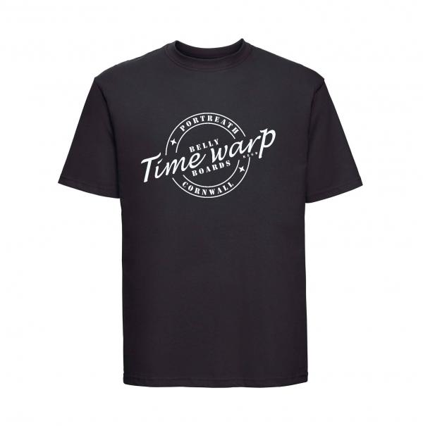 timewarp bellyboards tee black