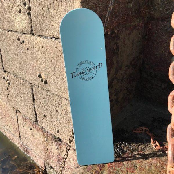 Timewarp bellyboards blue painted