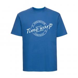 timewarp bellyboards azure blue teeshirt