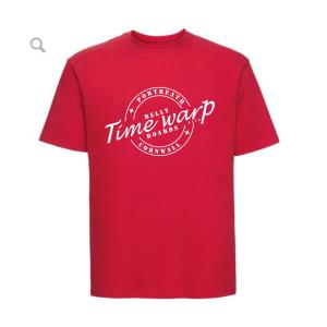 timewarp bellyboards red teeshirt